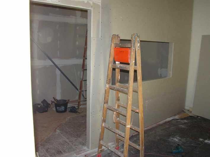 Fenster innenwand  Studiobau - Teil 2 Trockenbau