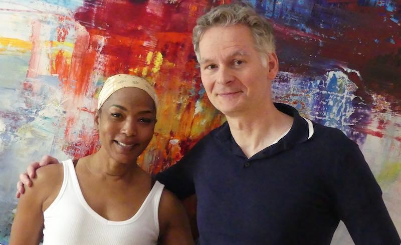 Angela Bassett en visite chez Mixwerk